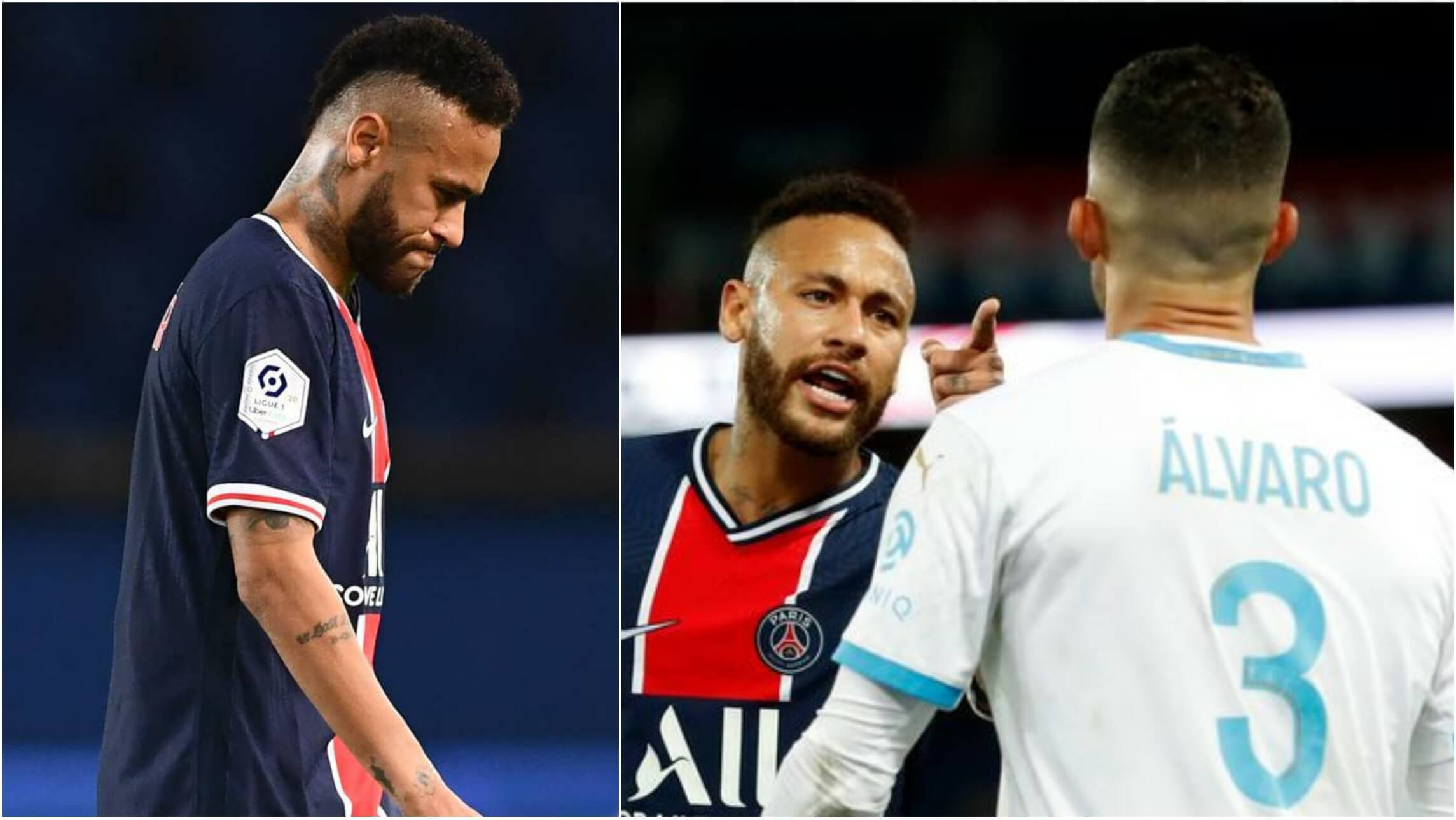 Carnage in Le Classique! Neymar amongst FIVE players sent off