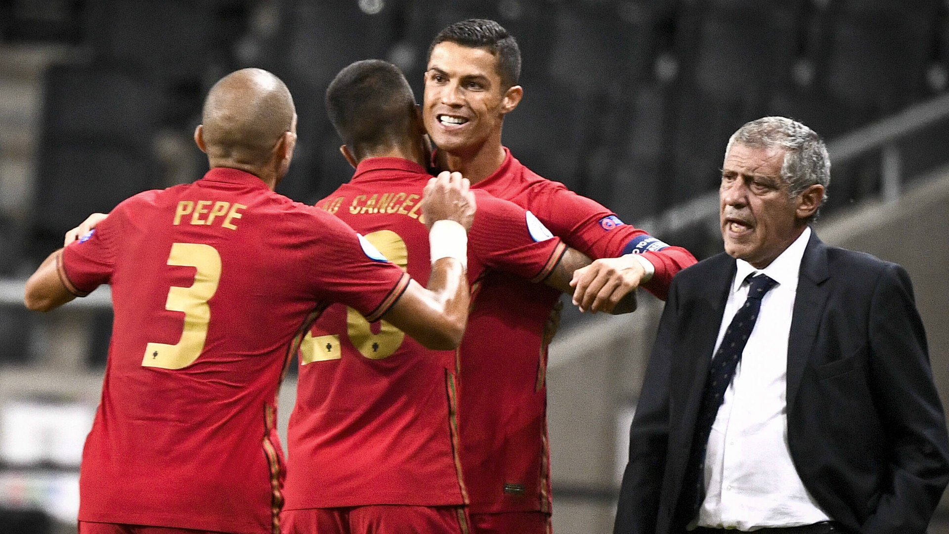 Ronaldo leads Portugal to the top
