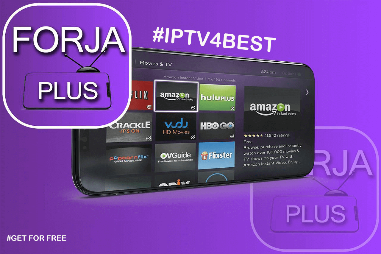 Forja TV IPTV APK By IPTV4BEST