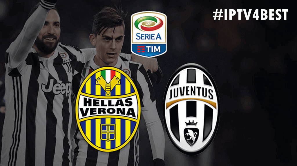 IPTv Juventus vs Hellas Verona BY IPTV4BEST