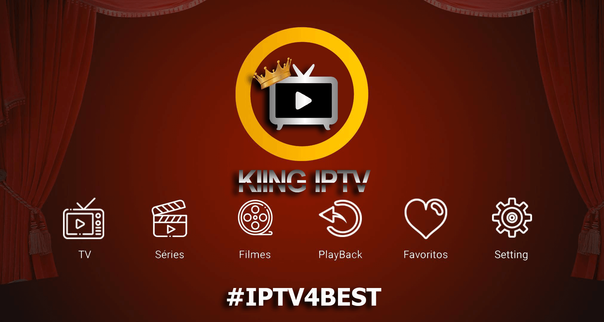 King IPTV Plus By IPTV4BEST