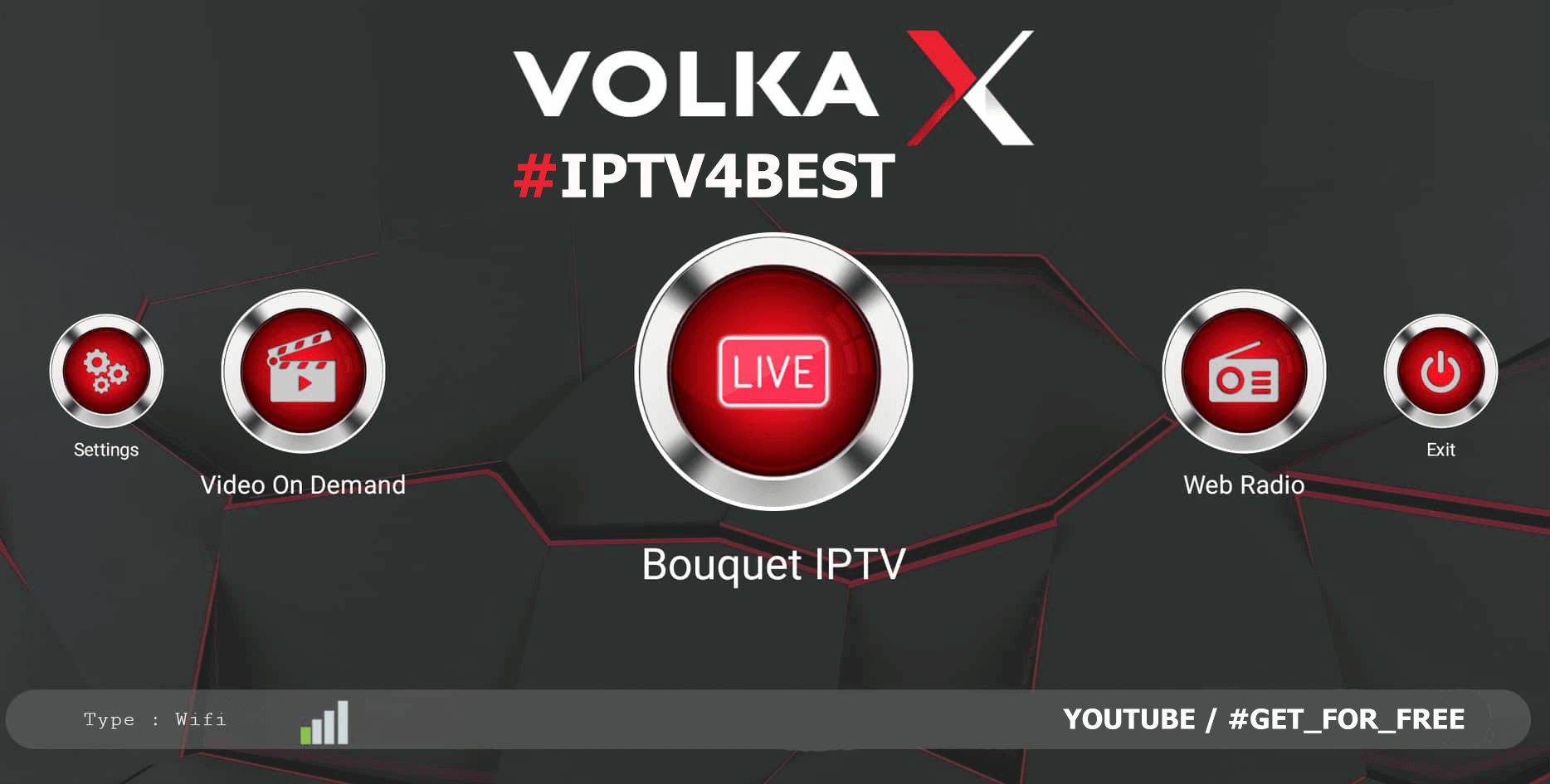 VolkaX IPTv APK + Activation Code By IPTV4BEST