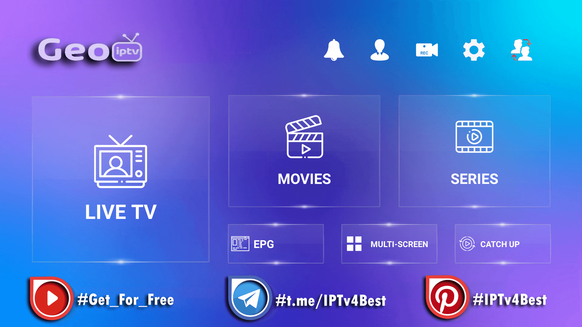 GGEO IPTV + Activation Login IPTV APK IPTV4BEST