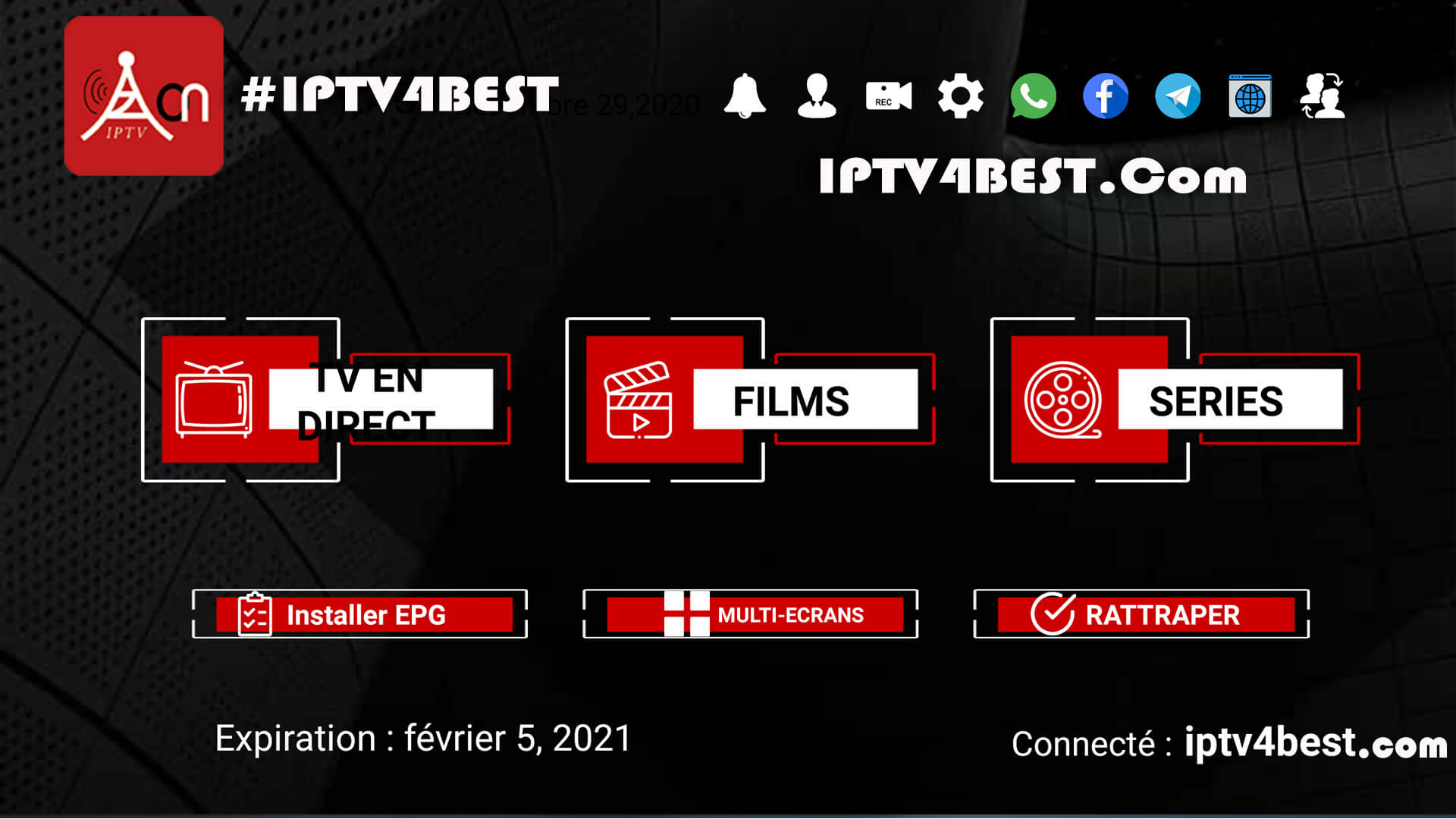 IPTvision APK + Premium Code 1 Year For Free By IPTV4BEST.Com