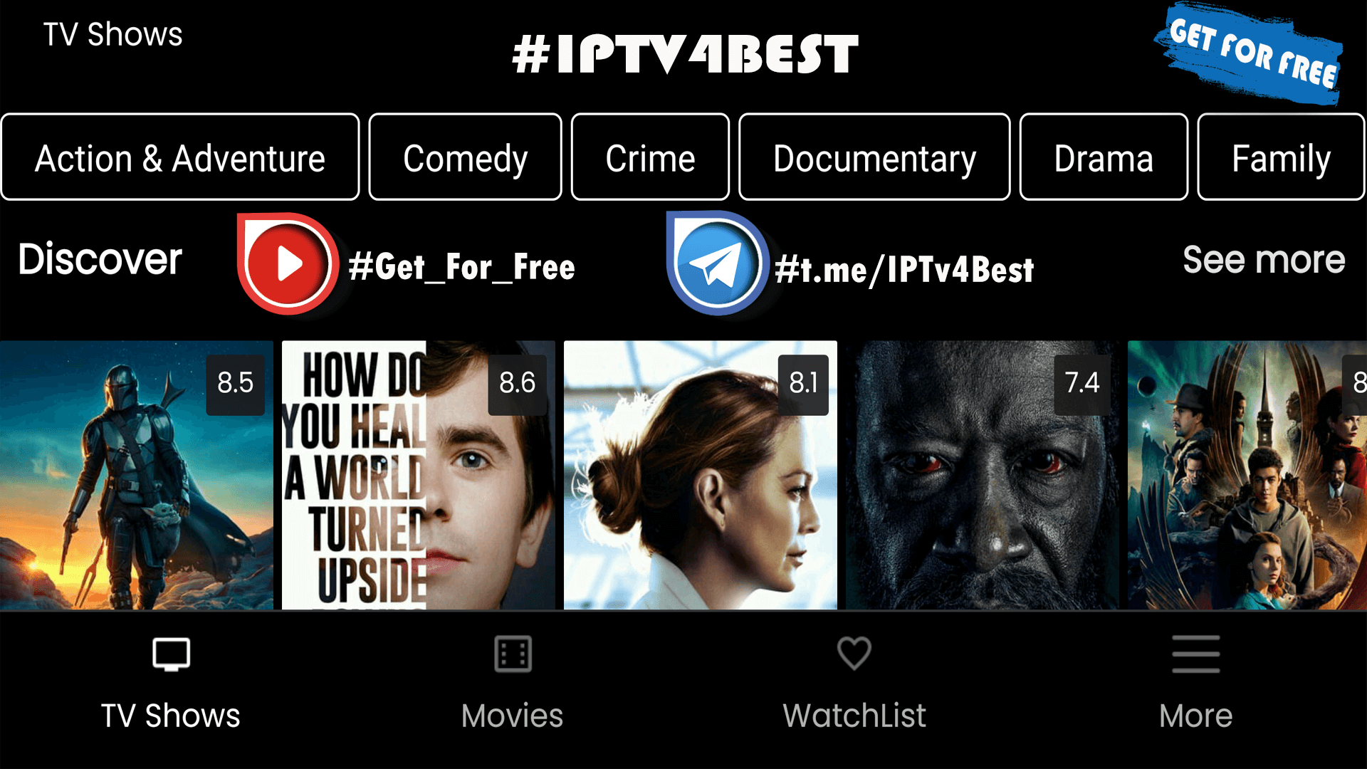 Nova Tv APK Movies Series Tv Show IPTv APK By IPTV4BEST