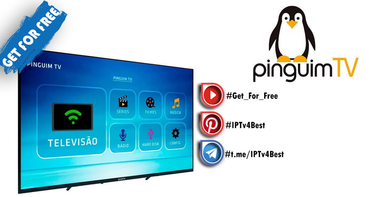PINGUIM Tv APK + Premium Activation IPTv APK By IPTV4BEST