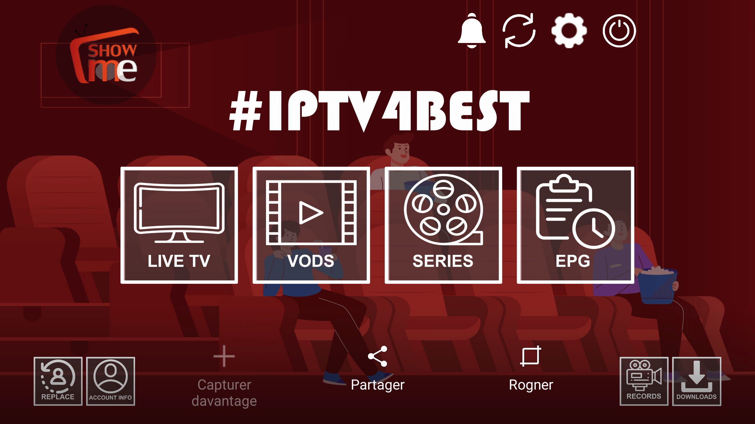 Show Me IPTv + Activation Code By IPTV4BEST