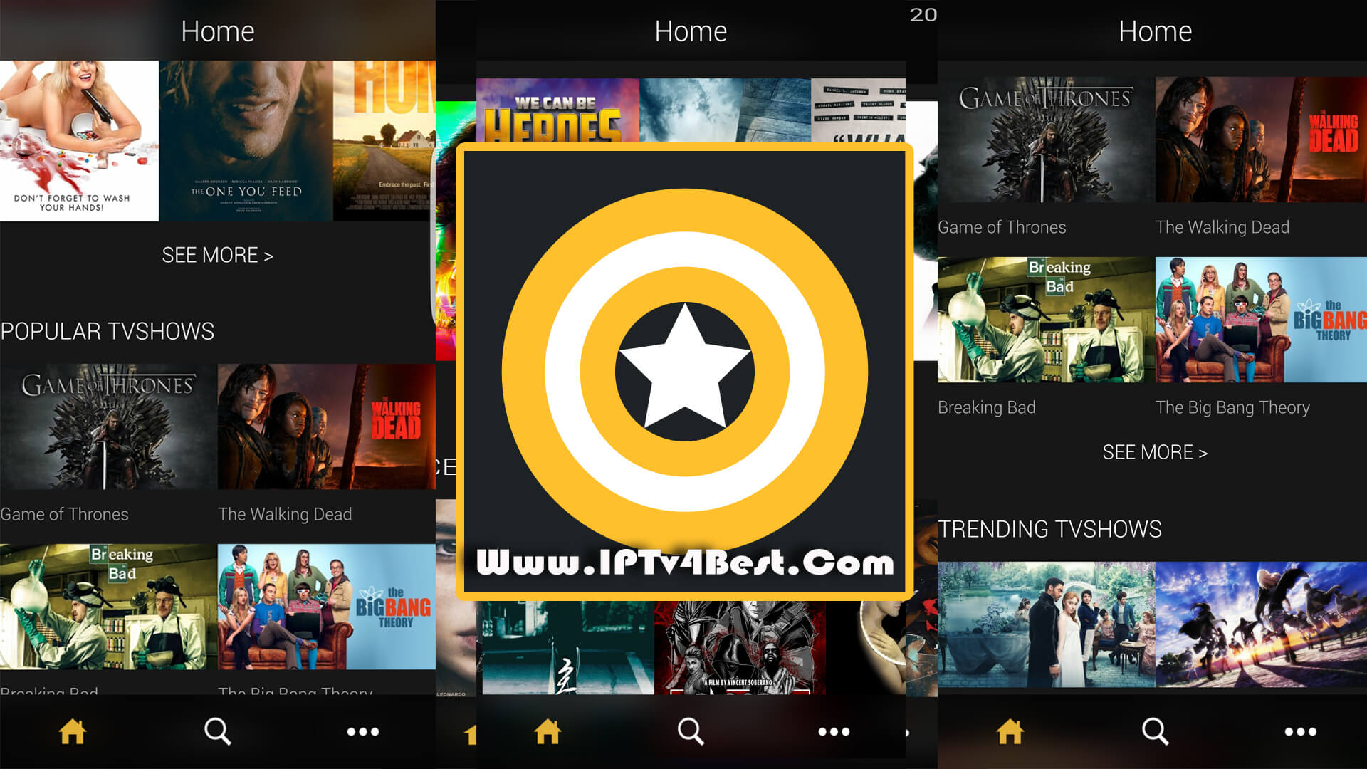 ZiniTevi Official - App For iOS & Android APK By IPTV4BEST.COM