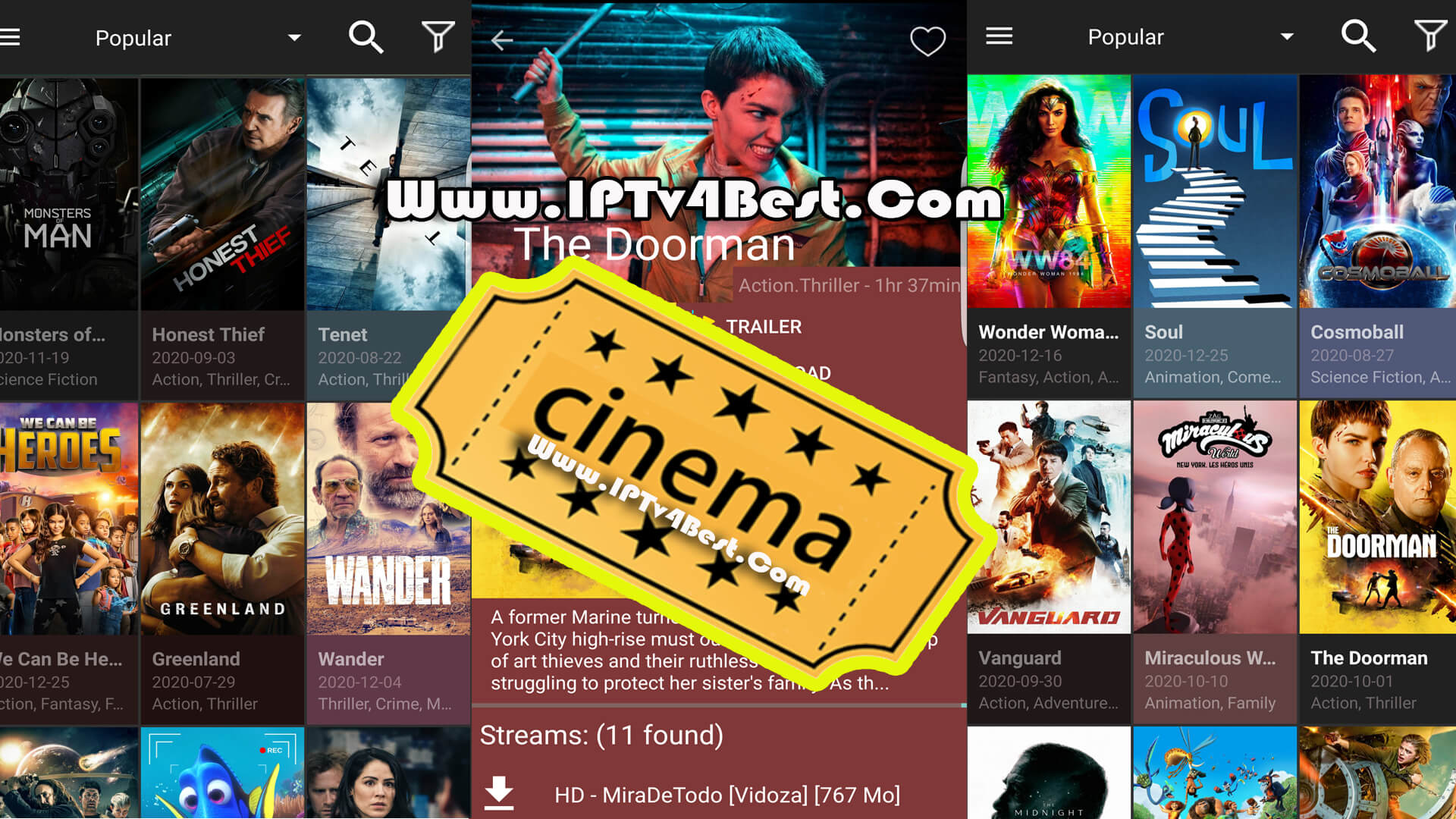 Cinema HD V2 APK Watch Movies & Series 2021 By IPTV4BEST.COM