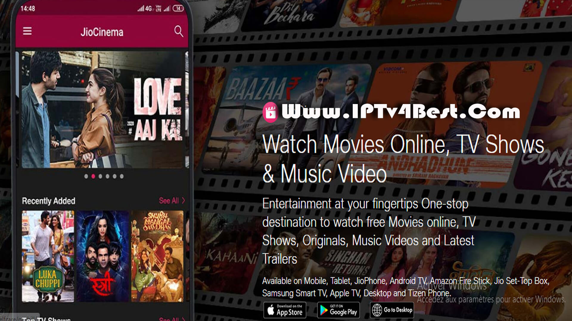 JioCinema APK - Watch Movies TV Shows By IPTV4BEST.COM