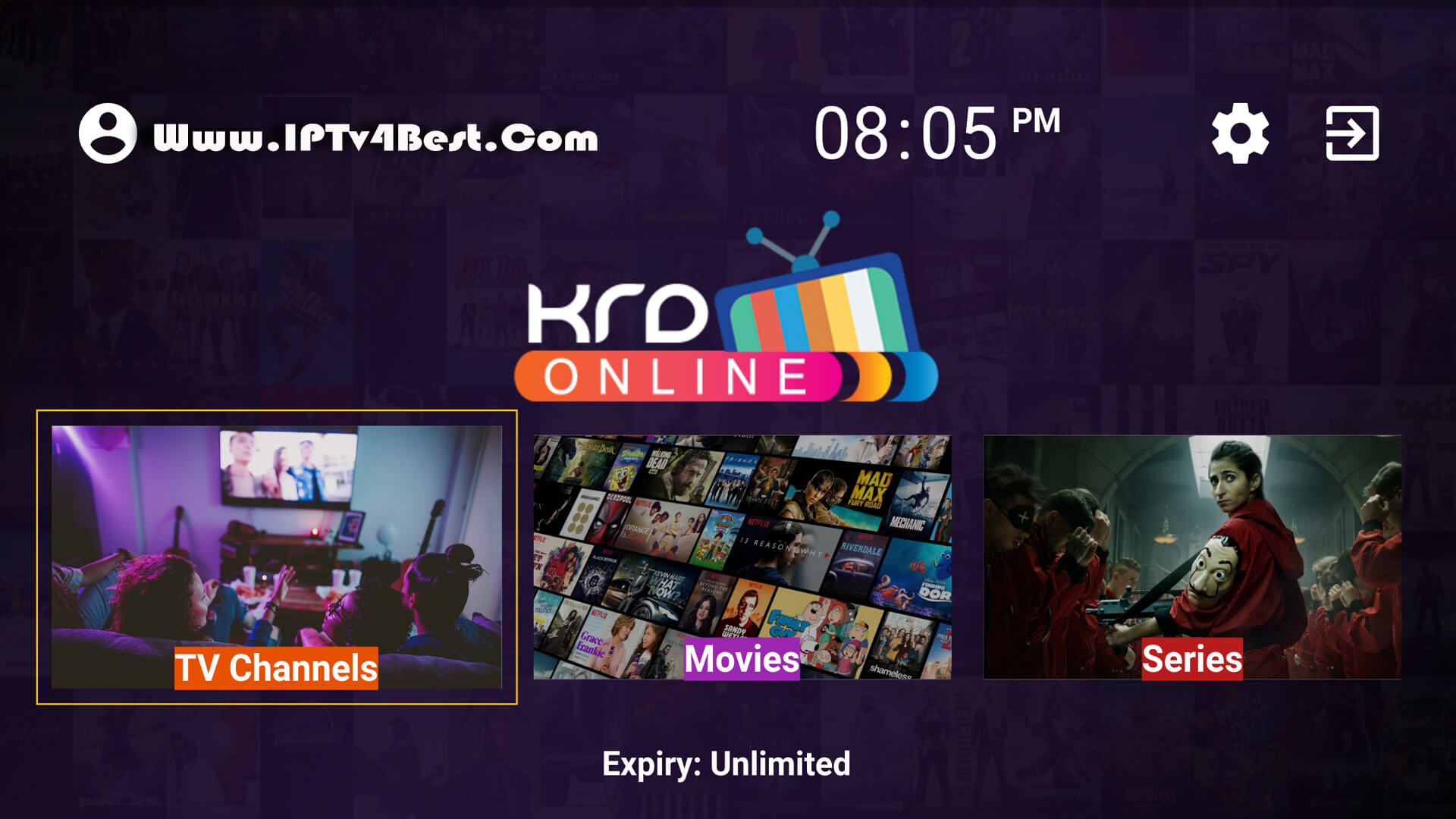 KRD Online Tv APK + Activation Code Unlimited By IPTV4BEST.COM