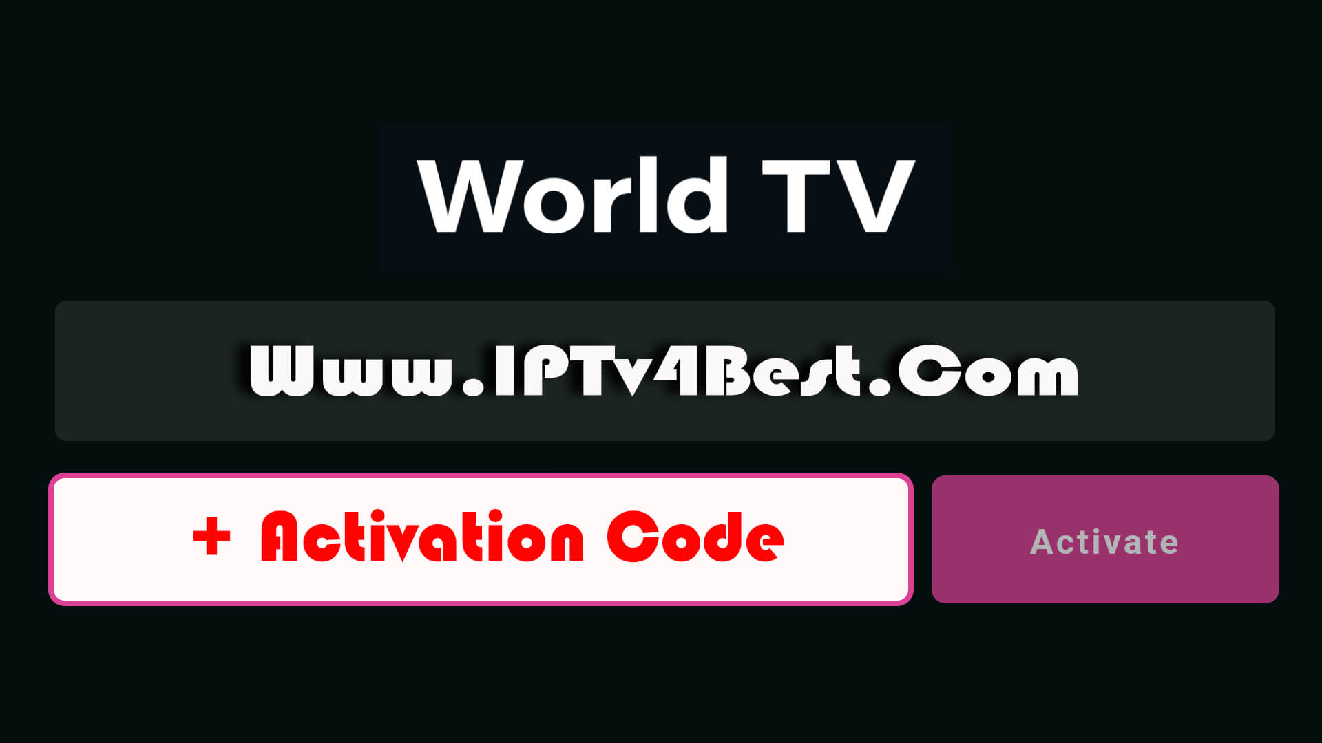 World Tv Player APK Zaltv Pro Activation Code By IPTV4BEST.COM